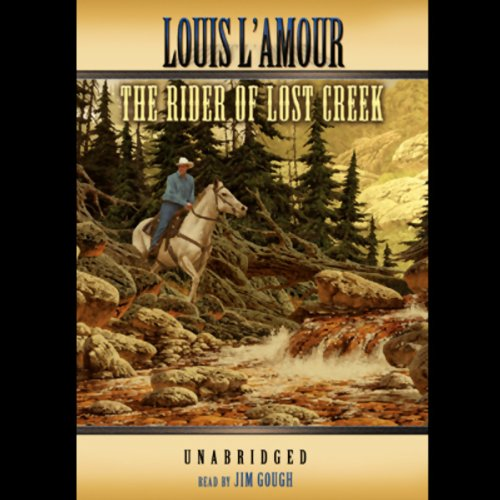 The Rider of Lost Creek audiobook cover art