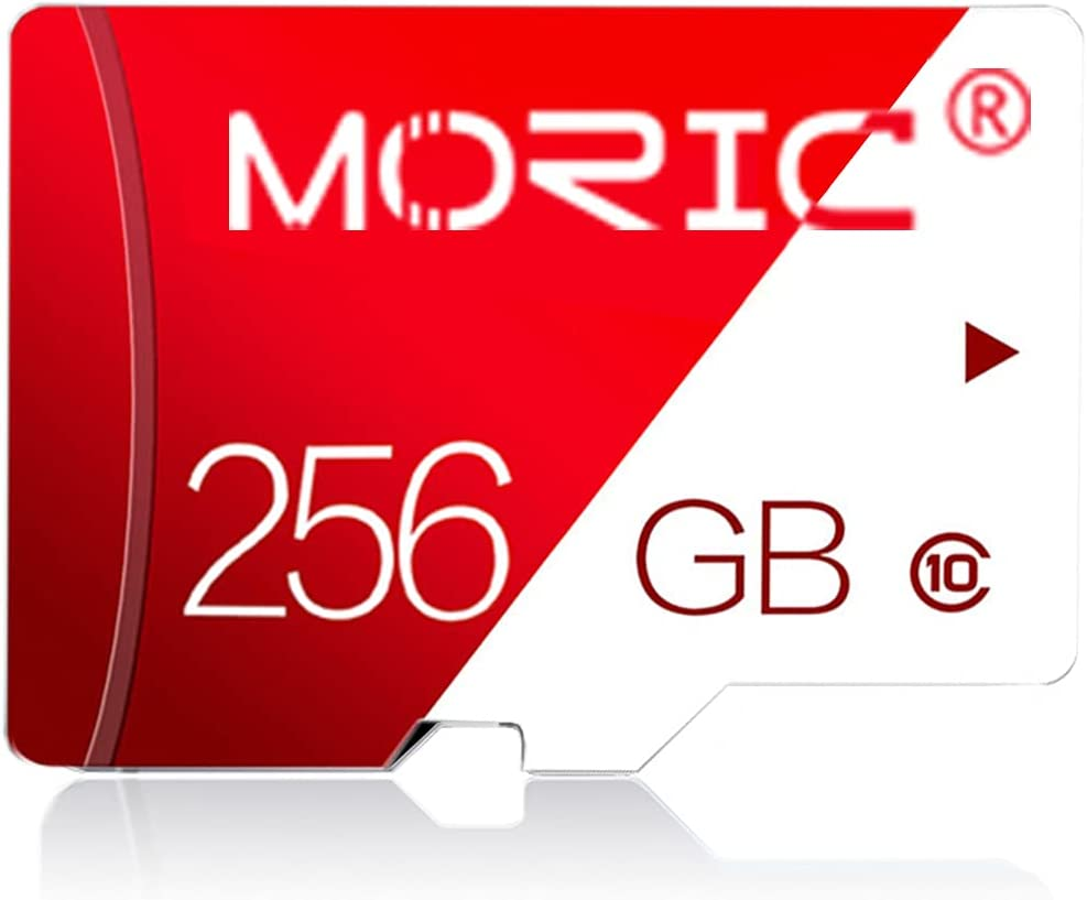 256GB Micro SD Card with Adapter Class 10 High Speed Memory Cards for Camera Memory Card for Phone Computer Game Console, Dash Cam, Camcorder, GPS, Surveillance, E-Reader, Drone