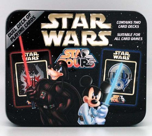 Disney Star Wars Mickey Mouse Playing Cards - Sith and Jedi Pack