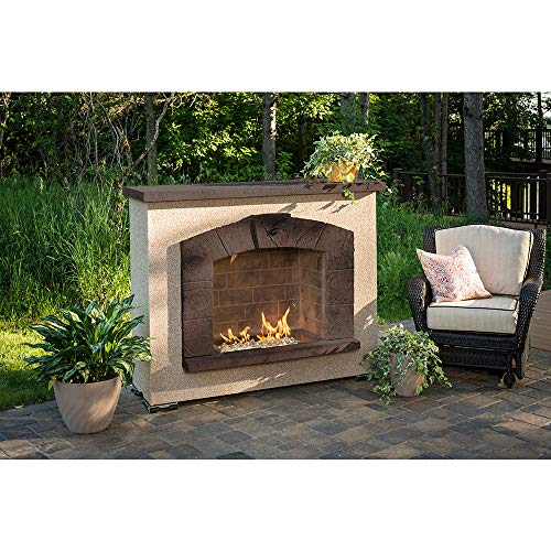 Why Choose Outdoor GreatRoom Stone Arch Fireplace