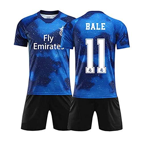 2020 Real Madrid Gareth Bale # 11-Fußballuniformen und -Shorts, großartige Materialien und schnell trocknend, Fans-C-XL