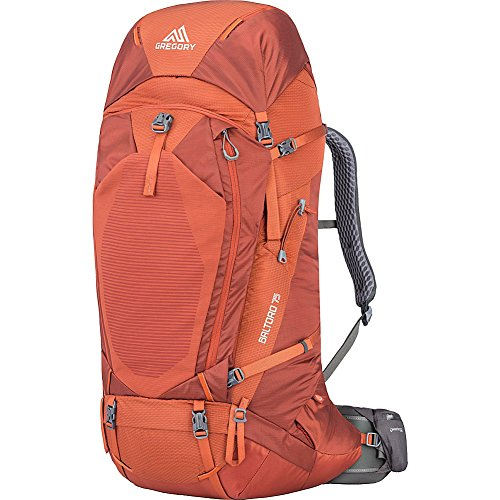 Gregory Mountain Products Men's Baltoro 75, Ferrous Orange, Large