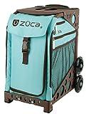 ZUCA Bag Calypso Insert & Brown Frame w/Flashing Wheels
