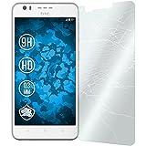 PhoneNatic 1 x Glas-Folie klar kompatibel mit HTC Desire 10 Lifestyle - Panzerglas für Desire 10 Lifestyle