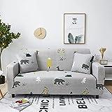 WXQY Elastischer Sofabezug Elastischer Möbelbezug Wohnzimmer Elastischer Sofabezug Sofabezug Sessel Sofabezug A6 4 Sitzer