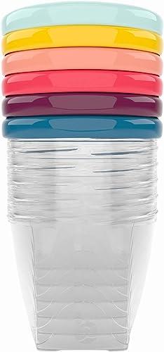 Babymoov Babybols - Pack de 6 contenedores de conservación, 250 ml