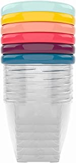 Babymoov Babybols Opbergdoosjes voor Babyvoeding, 6-Delig, 250 ml, Meerkleurig