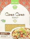 Probios Cous cous integrale di kamut BIO Fonte di fibre Cous cous integrale di grano khorasan kamut Facile da usare, qualità ottimale