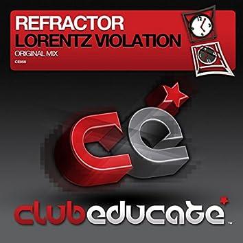 Lorentz Violation