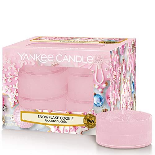 Yankee Candle Yankee candle duft-teelichter | snowflake cookie | 12 stück