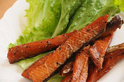 チーナ カナダ/アメリカお土産 冷凍 ペッパード ダブル スモークサーモン 150g 1個 冷凍 サーモンキャビア(いくら)100g 1個