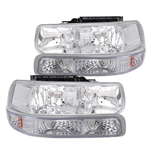 02 tahoe chrome headlights - 9