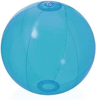 DISOK. Lote de 10 Pelotas de Playa de balón hinchables. Balones para niños, Deporte de Verano, Accesorios de Playa.
