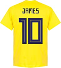 Retake Colombia James 10 Equipo Camiseta – Amarillo
