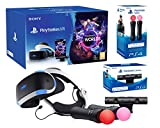 PlayStation VR 'Starter Plus Pack' Camera V2 + VR Worlds + Paire Move Controllers