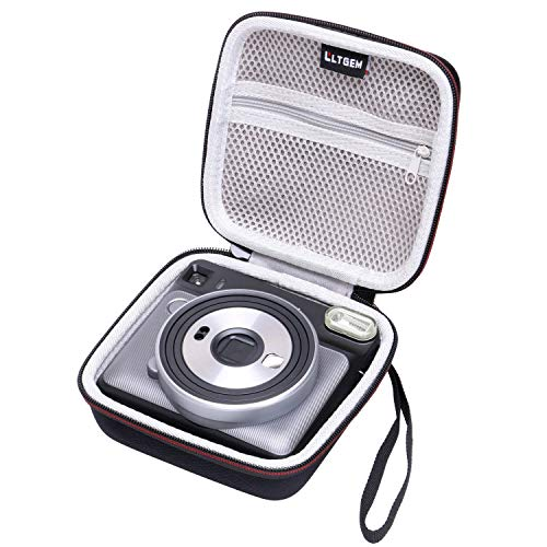 LTGEM EVA rigida Custodia per Fujifilm INSTAX Square SQ6 Pellicola istantanea camera travel protettiva immagazzinaggio