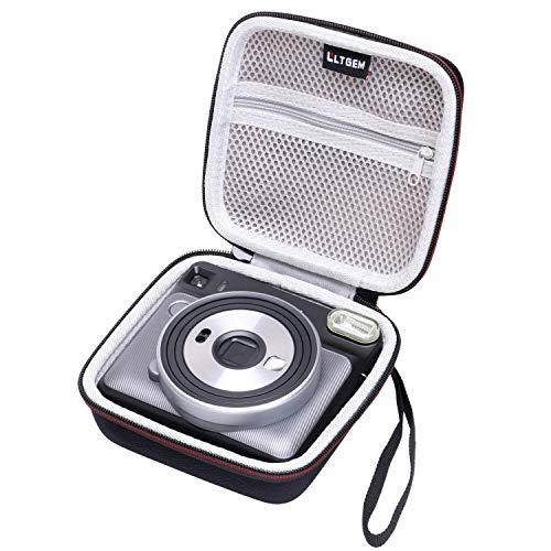 LTGEM EVA Hartschalenetui für Fujifilm Instax Square SQ6 -Instant Film Kamera-Reise Schutz Aufbewahrungstasche