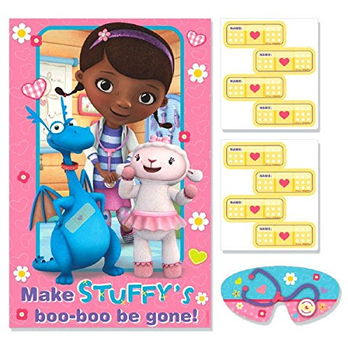 Party Game   Disney Doc McStuffins Collection   Party Accessory