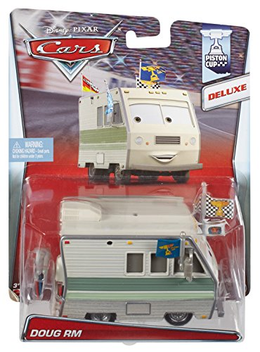Disney/Pixar Cars, Piston Cup 2015 Series Deluxe Die-Cast Vehicle, Doug RM #16/18, 1:55 Scale