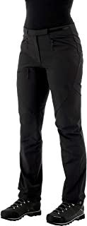 633d3c9f5a Mammut Courmayeur - Pantalones de Softshell para Mujer, Color Negro, Talla  36