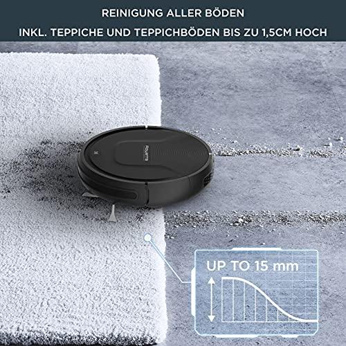 Rowenta RR6825 Explorer 20, Saugroboter, Schwarz, 65 Dezibel - 4