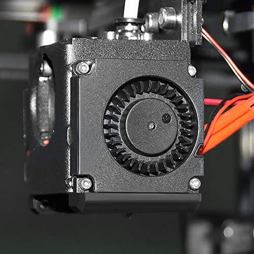 ACGGMR Ender 3 Pro Build Plate 2pcs 12V / 24V 4010 Blower 40x40x10mm Ventilador de enfriamiento sin escobillas con la Boquilla de la guía de Aire para la Impresora 3D (J) Ender Pei (Color : 24V)