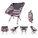 YIONGA CAIJINJIN Silla de Campamento Plegable de Ultraligero Luna sillas portátiles Silla de jardín Silla de la Pesca de Al Asiento extraíble Camping Plegable Sillón Al Aire Libre