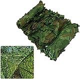 Red de Camuflaje con Red de Camuflaje Adecuada para decoración de junglas y Jardines | Tela Oxford de protección Solar |Red de Camuflaje para toldo para Tienda de campaña (tamaño:6x6m)