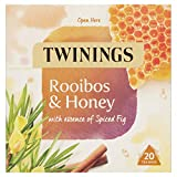 Twinings Rooibos and Honey Herbal Tea bags - 20 Tea bags