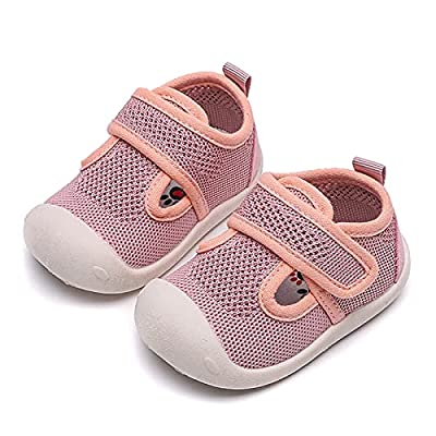 Amazon - Save 70%: DRAGONHOO Baby Hiking Sneakers | Girls and Boys Soft-Soled Breathable M…
