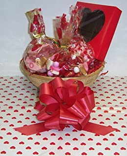 Scott's Cakes Small Cupids Helper Valentine Basket no Handle Heart Wrapping