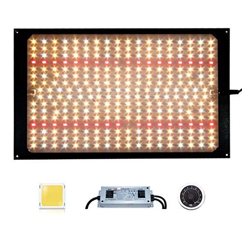 douzxc Dimmerabile 120W 240W Quantum LED Plant Grow Light Board LM301H / 301B 3000K 5000K IR per sistemi idroponici Interni, Q, 120W-HLG-Dimmerabile