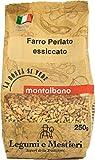 MONTALBANO Farro Perlato Italiano 12 Buste - 3 kg