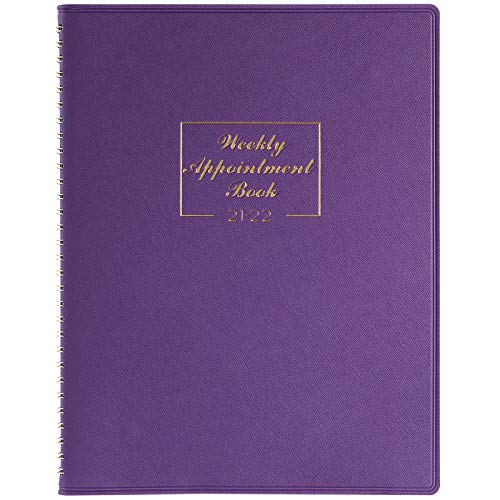 2021-2022 Weekly Appointment Book & Planner - Daily Hourly Planner, July...
