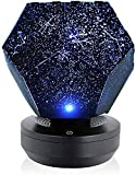MAITENG Nova Stars Original Home Planetarium Starry Sky Projection Lamp USB Rechargeable Projector Night Light Constellation Galaxy 3D Lamp for Kids Bedroom (Blue Light, USB)
