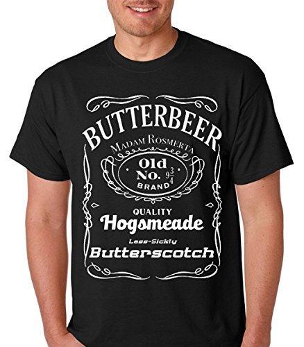 Pliuegy Raw T-Shirt's Vintage Butterbeer - Old No. 9 3/4 - Wizard Potter Butter Scotch Men's T-Shirt