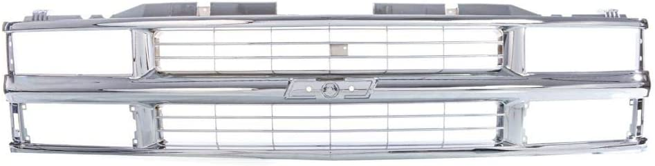 Riseking Front GRILLE Store Compatible with K C Blazer Subur Max 74% OFF 1994-2002