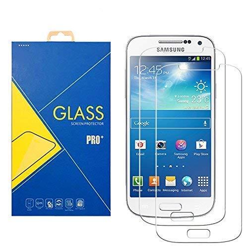 [2 Pack] Panzerglas Schutzfolie Samsung Galaxy S4 Mini GT-i9195 / 9195 / 9190 - Gehärtetem Glas Schutzfolie Displayschutzfolie für Samsung Galaxy S4 Mini GT-i9195 / 9195 / 9190