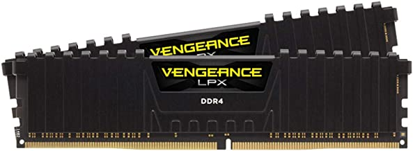 Corsair Vengeance LPX 32GB (2 x 16GB) DDR4 DRAM 3600MHz C18 AMD Ryzen Memory Kit - Black