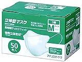 アイリスオーヤマ 立体型マスク NM3-50RM 50枚入
