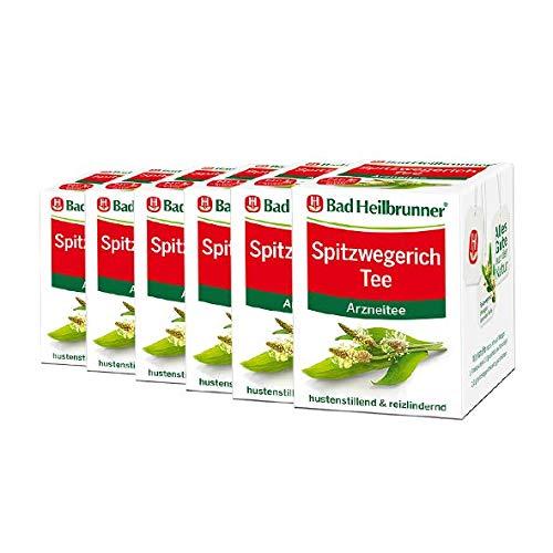 Bad Heilbrunner® Spitzwegerich Tee - 6er Pack