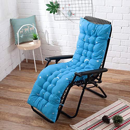 Ssskl 48x170cm sillón reclinable cojín de Respaldo Suave cojín Mecedora cojín de Banco reclinable cojín de Silla de jardín-4_40x110cm 1 Pieza