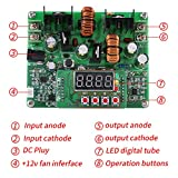 4 digit display could show real-time voltage, current, power and capacity, and you can select automatic or manual display in turn Using advanced microprocessor, the converter can accurately adjust output voltage and current The converter supports out...