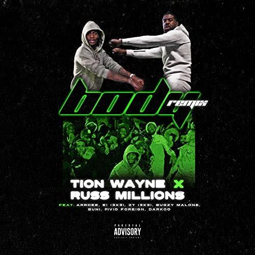 Tion Wayne & Russ Millions feat. Arrdee, E1 (3x3), ZT (3x3), Bugzy Malone, Buni, Fivio Foreign & Darkoo