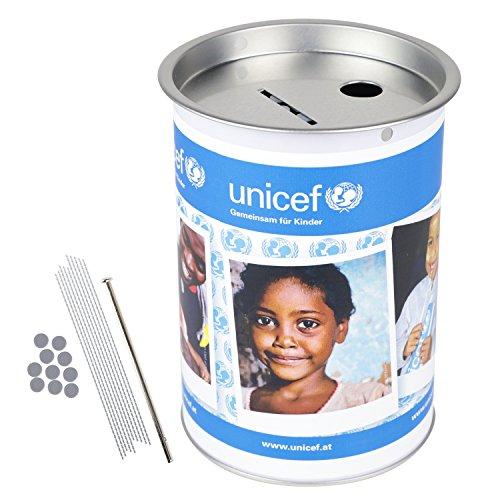 HMF 4610007 Spendendose 10,0 cm Ø, 14,5 cm hoch ohne Griff, individuelle Klebefolie