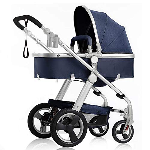 Learn More About Sunzy High Landscape Stroller, can sit Reclining Fast Folding Four Seasons Baby Str...