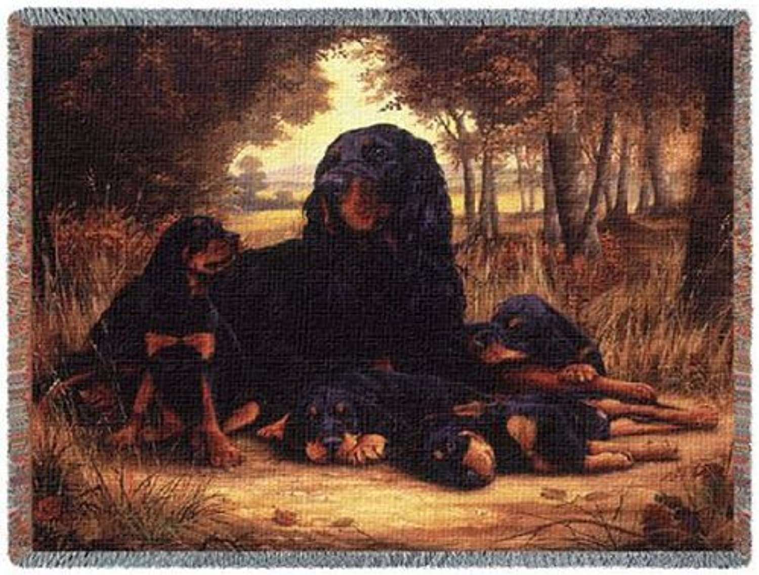 Pure Country 1141T Gordon Setter Pet Blanket, Various Blended colorways, 53 by 70Inch by Pure Country