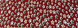 30mm x 2m), color rojo con estrellas de Navidad impresión bies. Este es ideal para costura,...
