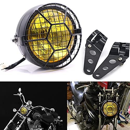 Motorcycle Headlight, Universal Halogen 6