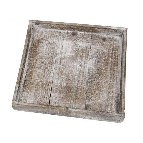 Unbekannt -  Wooden tray natural